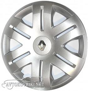 Колпаки колесные с эмблемой R16 (406) Renault org SKS