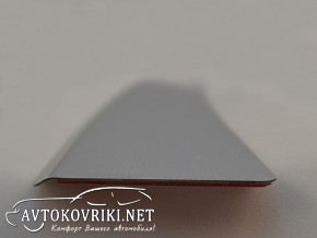 Накладка на бампер с загибом для Subaru Forester IV 2013-