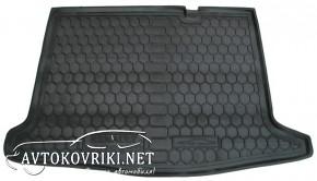 Купить коврик в багажник Рено Сандеро 2013- полиуретановый Автог