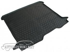 Купить коврик в багажник Рено Докер 2013- полиуретановый Автогум