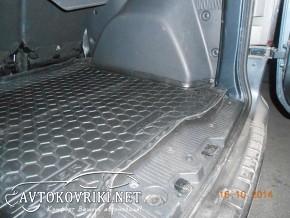 Коврик в багажник Рено Докер 2013- полиуретановый Автогум