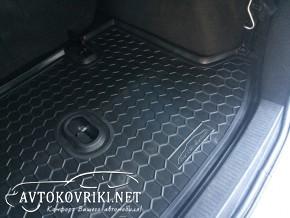 Коврик в багажник для Renault Lodgy 2013- Avto-Gumm