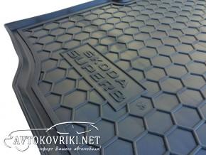 AVTO-Gumm Коврик в багажник для Skoda SuperB Sedan 2008-