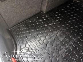 Коврик в багажник Шкода Суперб седан 2008- полиуретановый Автогу