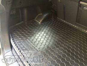 Коврик в багажник для Nissan X-Trail (T31) 2007- (с полкой) Авто