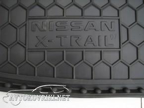 Avto-Gumm Коврик в багажник для Nissan X-Trail (T31) 2007- (без