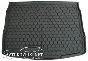 Купить коврик в багажник Ниссан Кашкай 2014- полиуретановый Авто