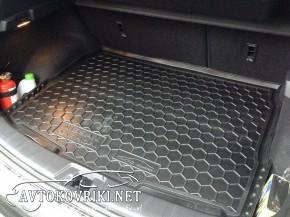 Коврик в багажник Ниссан Кашкай 2014- полиуретановый Автогум