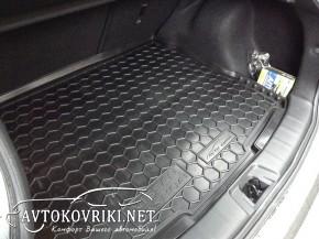 Коврик в багажник для Nissan Qashqai 2014- Avtogumm