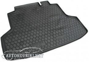 Купить коврик в багажник Чери E5 2013-  полиуретановый Автогум