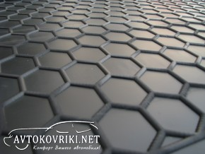 Коврик в багажник Форд Турнео Коннект 2013- (короткая база) поли