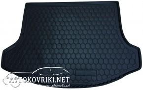 Купить коврик в багажник КИА Спортейдж 3 2010- полиуретановый Ав
