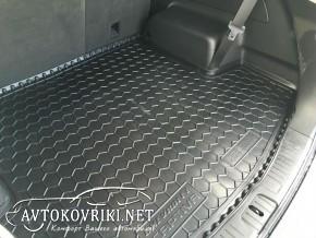 полиуретановый коврик в багажник Шевроле Каптива 2012-