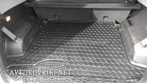 Купить коврик в багажник Шевроле Орландо 2011- (7-мест) полиурет