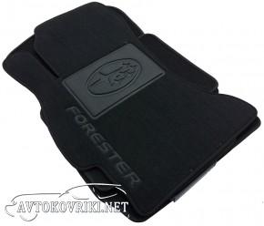 Коврики в автомобиль текстильные Subaru Forester 4 2013- черные
