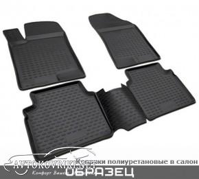 Коврики в салон для Hyundai IX-35 2010- черные Novline