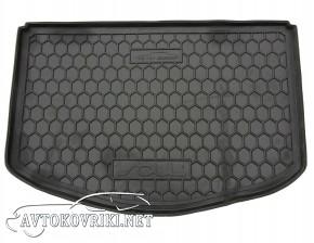 Купить коврик в багажник КИА Соул 2014- (нижний) полиуретановый