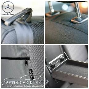 Автомобильные чехлы Mercedes-Benz Vito (W639) 2003- (1+2)