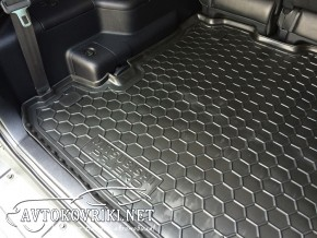 Avto-Gumm Коврик в багажник Мицубиси Паджеро 4 2007- 7 мест поли