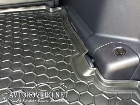 Коврик в багажник Мицубиси Паджеро Вагон 4 2007- полиуретановый