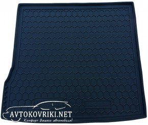 Купить коврик в багажник Рено Дастер 2WD 2010- полиуретановый Ав