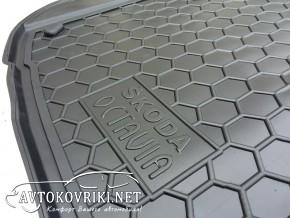 AVTO-Gumm Коврик в багажник для Skoda Octavia Tour 1996-2010 Sed