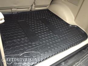 Коврик в багажник Тойота Ленд Крузер Прадо (120) 2002-2009 полиу