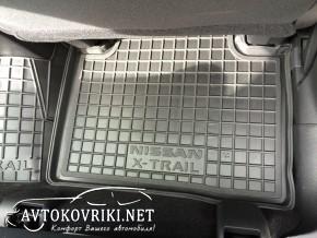 Коврики в салон автомобиля Ниссан X-Trail (T32) 2014- Автогум по
