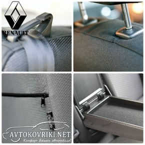 Купить автомобильные чехлы Рено Сценик 2009- EMC Elegant