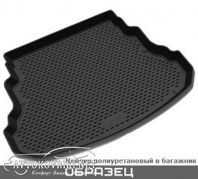 Коврик в багажник для Mazda 3 HB 2009-2013 полиуретановый черный