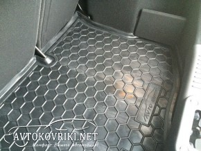 Купить коврик в багажник для Форд Фиеста 2011- полиуретановый Ав