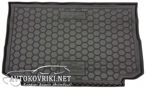 Купить коврик в багажник Форд Би-Макс 2013- верхняя полка полиур