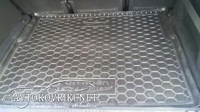 Коврик в багажник Ситроен С4 Пикассо 2014- полиуретановый Автогу