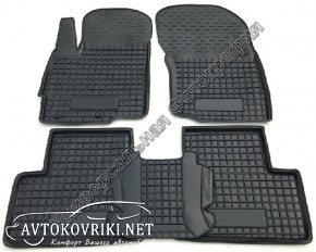 Коврики в салон для Peugeot 508 2011- AVTO-Gumm полиуретановые