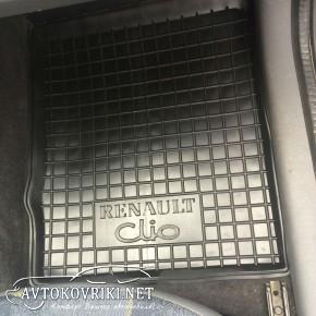 Коврики автомобильные в салон Рено Симбол 2002- Автогум полиурет