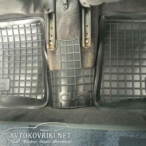Коврики в салон автомобиля Рено Симбол 2002- Автогум полиуретано