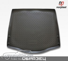 NorPlast Коврик в багажник для Audi A3 (8V) Sedan 2012- полиурет