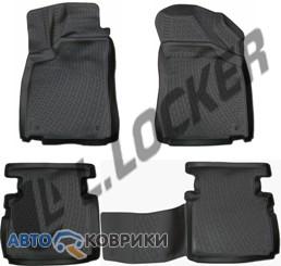 3D коврики в салон для MG 5 2012- L.Locker