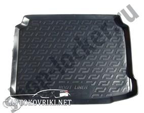 Купить резиновый коврик в багажник Пежо 308 2013- L.Locker