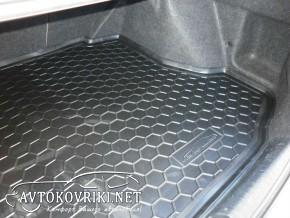 Купить коврик в багажник для Хонда Цивик 4D Седан 2006-2012 поли