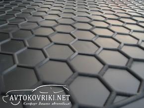 Купить коврик в багажник Рено Дастер 4WD 2010- полиуретановый Ав