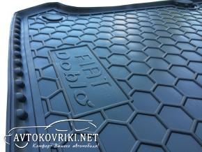 AVTO-Gumm Коврик в багажник для Fiat Doblo 2000- (без решетки)