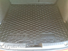 AVTO-Gumm Коврик в багажник для Mazda 3 Sedan 2014-