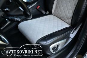 Премиум накидки на сиденья автомобиля из Алькантары купить компл