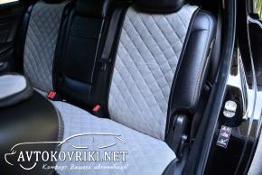 AVторитет Накидки на сиденья автомобиля серые (комплект)