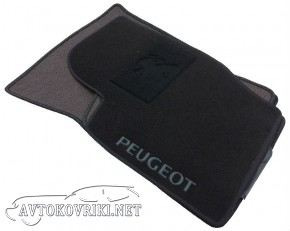CMM Текстильные коврики в салон для Peugeot 307 2001- черные ML