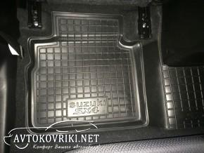 Купить коврики в салон Автогум для Сузуки SX4 2013- полиуретанов