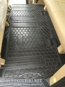 Коврики в салон автомобиля Хендай H1 2007- (третий ряд) Автогум