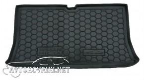 Коврик в багажник Ниссан Микра (К12) 2002-2012  полиуретановый А