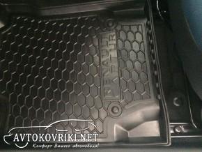 Коврики автомобильные в салон Рено Каптур 2015- Автогум полиурет
